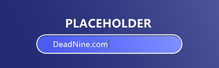 CSS修改placeholder颜色 单独设置placeholder的字体字距